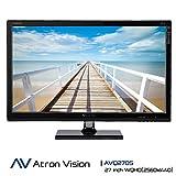 Atron Vision Professional Gaming Monitor AVQ270S. WQHD (2560X1440) 27-inch Widescreen LED Monitor. Virtual 4K, 4ms, Flicker Free, Low Blue Light, Built Premium Speaker, HDMI, DVI, Display Port.