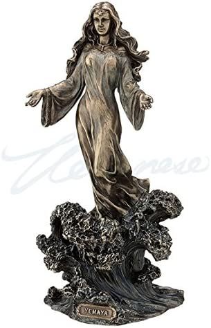 Yemaya - Mother of All Standing Wave Statue Max 58% OFF Selling on Ocean