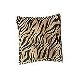 45x45cm Cubierta Fundas Leopardo Cebra Impreso para Almohada Cojín Amortiguador de Sofá #02