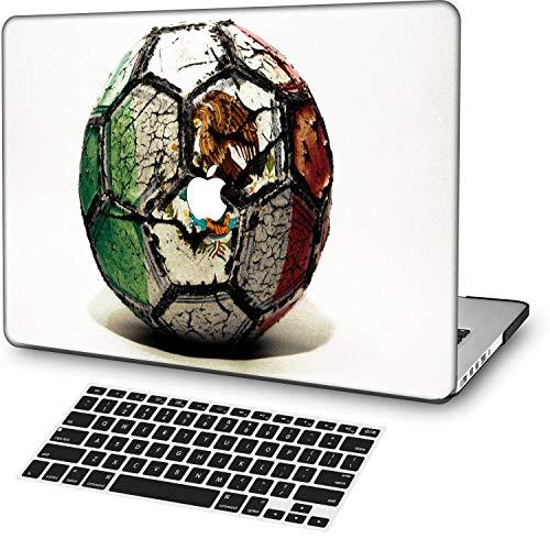 MingCaiFS Laptop Case for Old MacBook Pro 13' Retina (-2015),Plastic Pattern Ultra Slim Light Hard Case Keyboard Cover(Model:A1425/A1502),Creative B 127