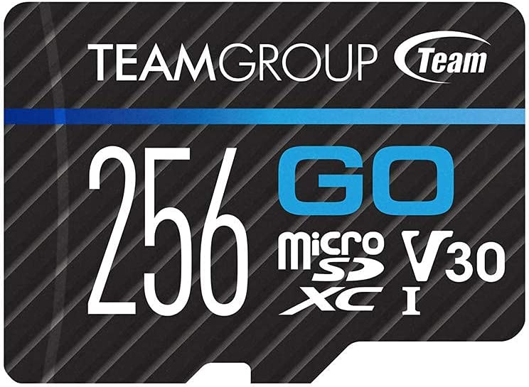teamgroup micro sd card for 4K UHD recording