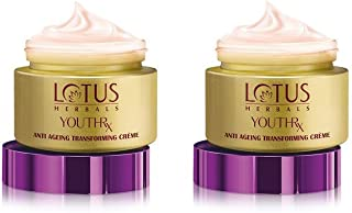 2 x Lotus YouthRx Gineplex Youth Compound Anti Ageing Transforming Cream - SPF 25 - 50g
