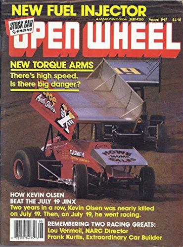 Open Wheel Magazine (August 1987)
