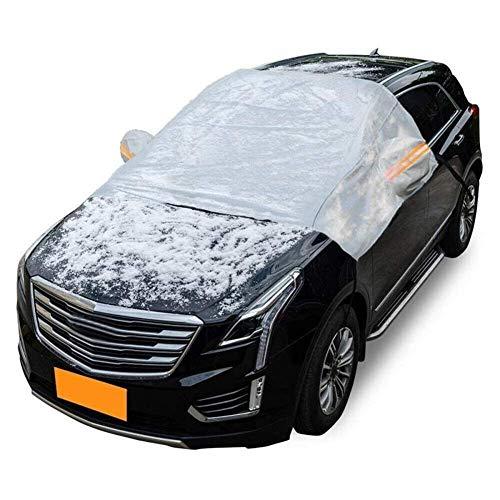CHUTD Cubierta Universal del Parabrisas del automóvil Protector Exterior Accesorios para automóviles Auto Cubierta de Nieve para automóviles de Invierno Hielo Lluvia Polvo Protección contra Helada