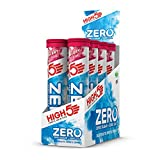 High5 High5 Zero Bebida Isotónica De Hidratación Electrolítica Con Vitamina C - Arándanos - Paquete De 8 Tubos De 20 Tabletas Efervescentes 830 g