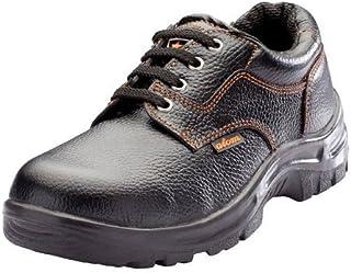 Acme Men's Safety Shoes (8, Black)
