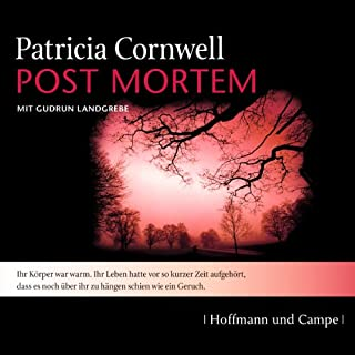 Post Mortem audiobook cover art