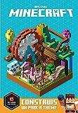 Minecraft : Construis un parc à thème - Construis un parc à thème - Livre officiel Mojang - De 9 à 14 ans