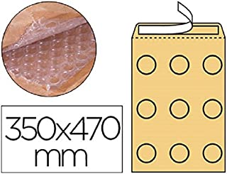 Box von 50 Briefumschläge Kraft Gepolsterte Blase braun nº-20 350 x 470 131876 AV B016DWLBA6  Günstiger