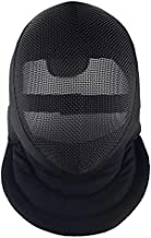 LEONARK Armoury AR7011 Helmet- Fencing Coach Mask - CE 350N Certified National Grade Masque - Fencing Protective Gear with Storage Bag (Detachable, L)