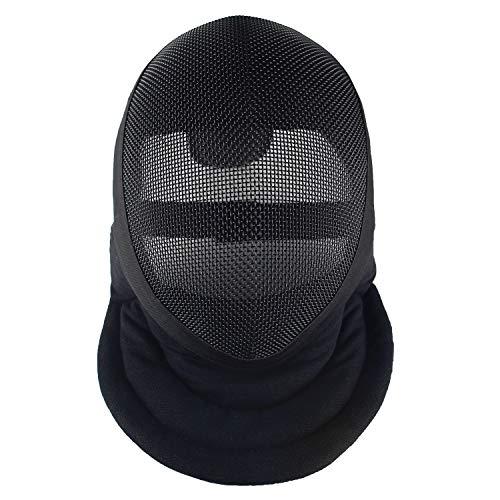 LEONARK Armoury Hema Helm, Zaunmaske, CE-350N zertifiziert, nationale Maske, Zaun-Schutzausrüstung mit Aufbewahrungstasche (abnehmbar, L)