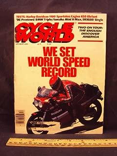 1985 85 December CYCLE WORLD Magazine (Features: Road Test on Harley Davidson XLH 1100 Sportster & Cagiva 650 Elefant, Riging Impressions on Yamaha SRX600 and BMW K75)