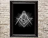 Masonic Symbol, Esoteric Sign, Great Architect, All-seeing