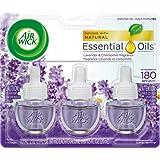 Air Wick, Plug In Scented Oil 3 Refills, Lavender & Chamomile, 2.01 oz