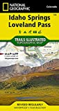 Idaho Springs, Loveland Pass (National Geographic Trails Illustrated Map (104))