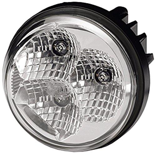 HELLA 2PT 009 599-131 Tagfahrleuchte - LED - 12V/24V - Einbau - Kabel: 500mm - Einbauort: links
