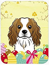 Caroline's Treasures Cavalier Spaniel Easter Egg Hunt Mouse Pad Hot Pad or Trivet Multicolor (BB1906MP) [Amazon/Cossac Planner]
