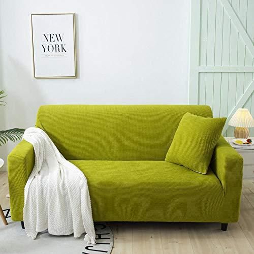 B/H Muebles Elegante Sofa Cubre,Funda de sofá Gruesa de Granos de maíz, Funda de sofá elástica Antideslizante-B_145-185cm,Fundas de sofá de Esquina