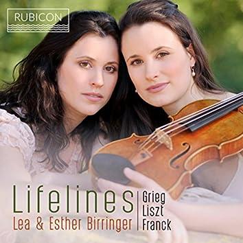 Grieg, Liszt & Franck: Lifelines