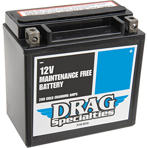 Batería AGM Maintenance-Free Drag Specialties para Harley Davidson Sportster XL 1200/883, XG Street