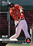 2020 Topps Now Baseball #181 Bobby Dalbec Pre-Rookie Card - Hits Home Run in MLB Debut - Only 1,014 made!