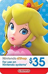 commercial $ 35 Nintendo eShop Gift Card [Digital Code] nintendo game cards