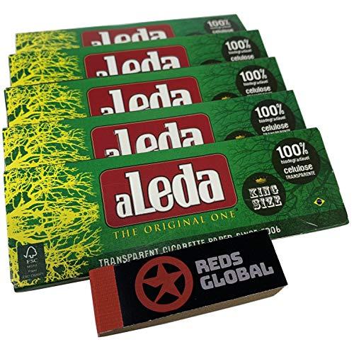 Aleda Transparent Cigarette Paper (5 Pack King Size)