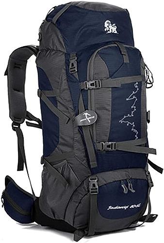 KERVINFENDRIYUN YY4 Sac à Dos étanche pour Les Sports de Plein air Camping Randonnée Course à Pied Alpinisme Sac Hommes et Femmes 85L