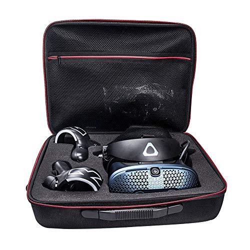 KT-CASE Schutzhülle für HTC Vive Cosmos – PC-Box, Reisetasche mit Schultergurt, Schutzabdeckung, schwarz