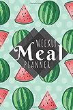 Meal Planner: Watermelons - 52 Week Food Planner / Diary / Log / Journal / Calendar - Planning Grocery List - Meal Prep - Notebook Journal