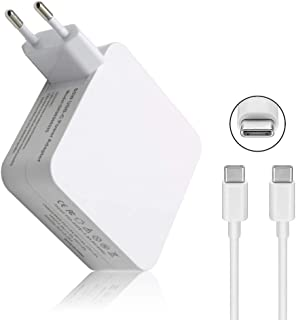 SiKER Cargador de Adaptador de Corriente USB Tipo C 65W / 61W para Apple MacBook/Pro, Lenovo, ASUS, Acer, DELL, Xiaomi Ai...
