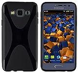 mumbi Samsung-Galaxy-A3-X-TPU-Hülle-Case - Funda para móvil Samsung Galaxy A3, negro