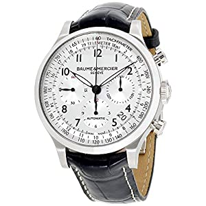 Baume & Mercier Men's MOA10063 Automatic Stainless Steel Silver Dial Watch image