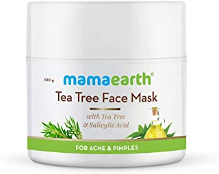 Mamaearth Tea Tree Face Mask for Acne, with Tea Tree & Salicylic Acid for Acne & Pimples - 100g