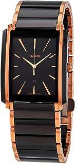 Rado Integral Quartz Watch with Ceramic Strap, Black, 21 (Model: R20227162)