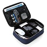 BAGSMART Organisateur d'Accessoires Electroniques Sac Rangement Cables Grand Protection Rembourré pour 9,7 Pouces Tablette , Disque dur , Chargeur , Câbles , Batterie