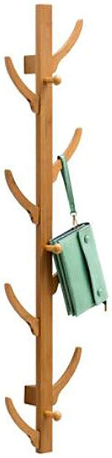 Wall-Mounted Coat Rack Wall-Mounted Hangers Bedroom Hooks Behind The Door Clothes Rack (color   A, Size   M)