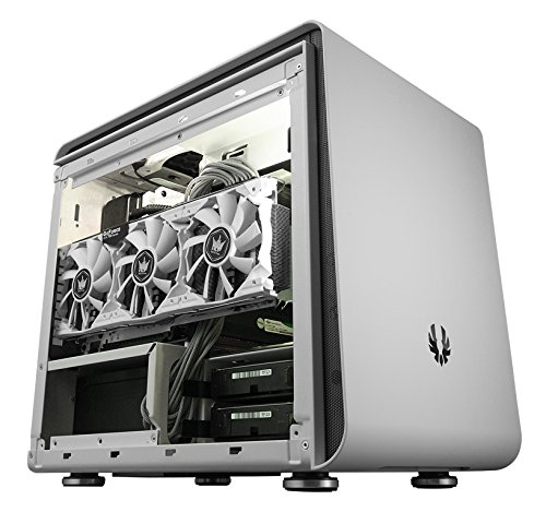 BitFenix Phenom Small Form Factor (SFF) Weiß - Computer-Gehäuse (Small Form Factor (SFF), PC, Kunststoff, Stahl, Mini-ITX, Weiß, Gaming)