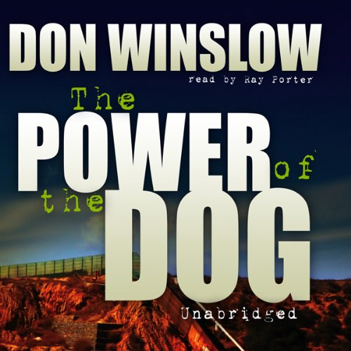 The Power of the Dog audiobook cover art