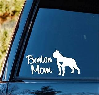 Boston Mom Dog Decal Sticker BGB1155