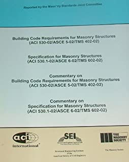 Building Code Requirements for Masonry Structures and Specification for Masonry Structures