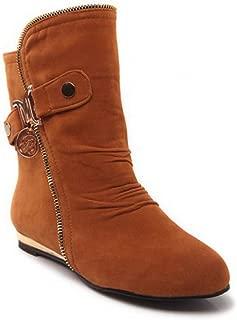 BalaMasa Womens ABS13908 Pu Boots
