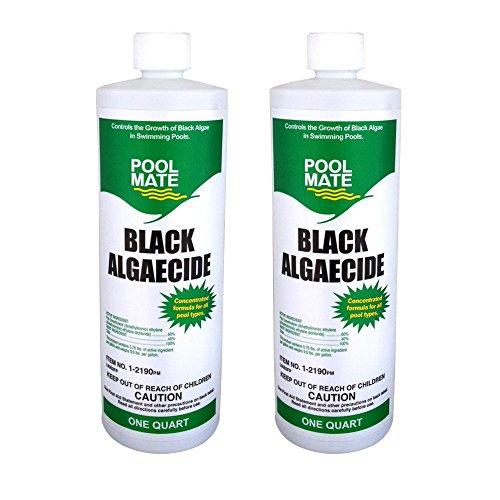 Pool Mate 1-2190-02 Black Pool Algaecide, 2-Pack