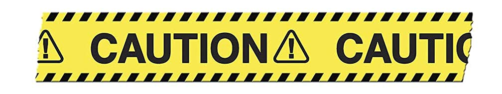 Tape Works Sbtape Caution