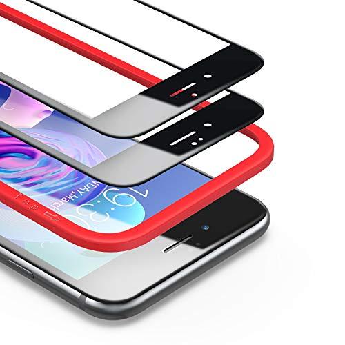 BANNIO Protector de Pantalla iPhone 6 iPhone 6S,[2 Unidades] 3D Cobertura Completa...