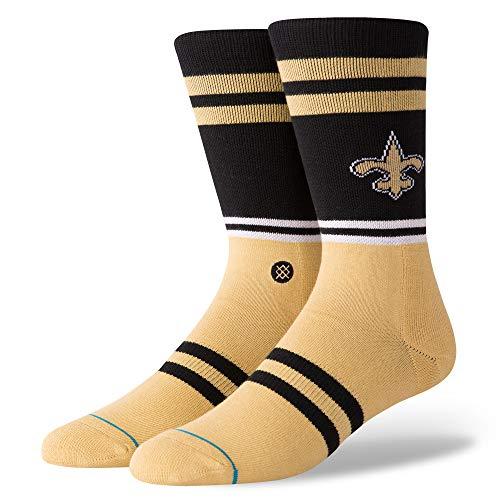 Stance Herren Saints Logo Socken, Black, L