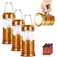 3-Pack Yieasy Super Bright Portable LED Camping Lantern