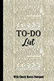To-Do List With Check Boxes Notepad: To Do List Book with Simple To-Do Lists, Top Priorities For Checklist Lovers to Check Off Your Daily To Dos