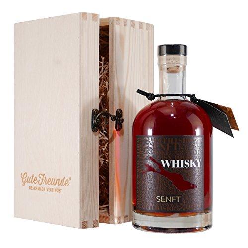 Bodensee Single Cask Whisky mit Geschenk-Holzkiste