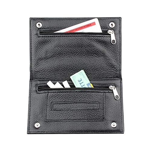 XWWX Pijp Tabak Pouch Case Sigaret Tabak Tas Echte Lederen Sigaret Accessoires Pocket Zakelijke Kaarthouder Tabak Tas Roken